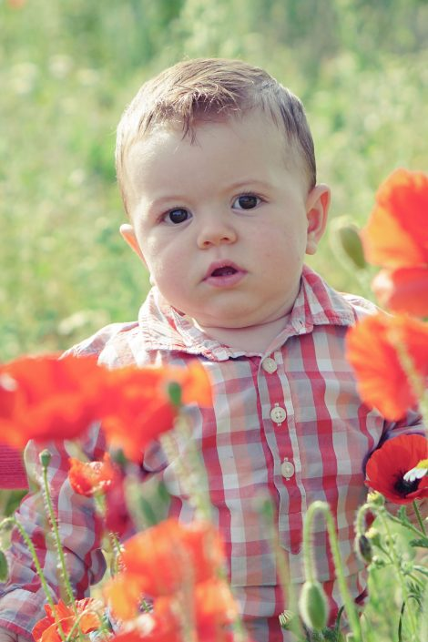 Springfield flowers for kids photography - Ronda. By Sjoots